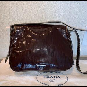 Prada EPI leather purse